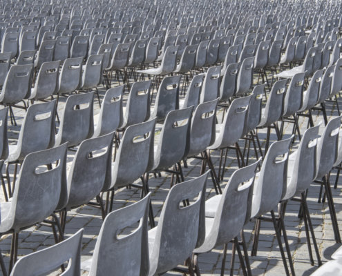 Krzewsła, krzesła w Watykanie, Chairs, Chairs in Vatican, a lot of chairs, many