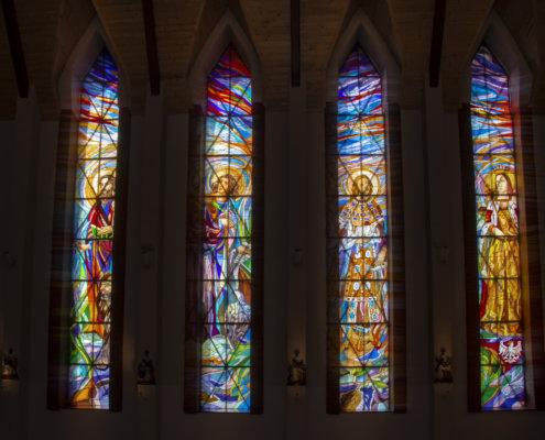 Kościół Rzymskokatolicki p.w. Przemienienia Pańskiego, Szczecin Gumieńce