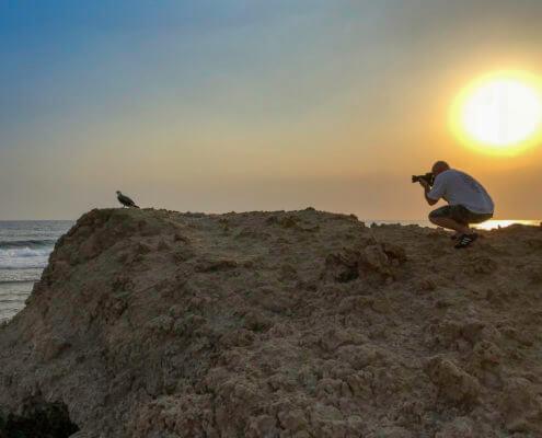 Sunrise with osprey
