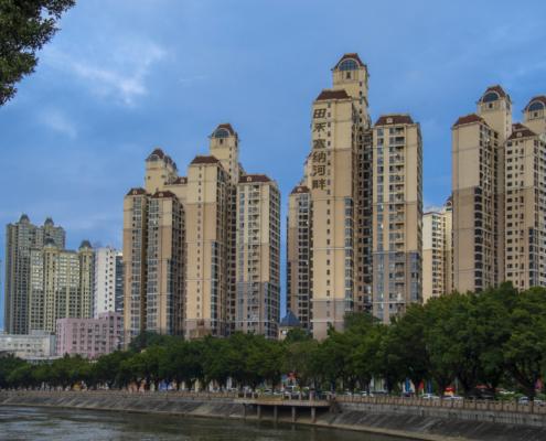 Skyscraper in Dongguan China
