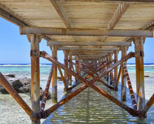 beach, sky, Africa, water, stone, beach, pier, blue sky, long, red sea